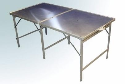 Hoektafel verkooptafel aluminiumtafel markttafel klaptafels