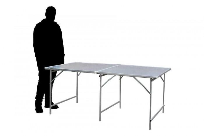 Hoektafel koffertafel, verkooptafel aluminiumtafel markttafel klaptafel 16
