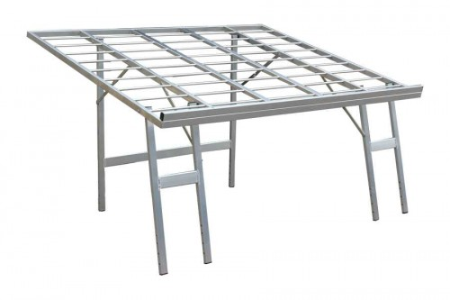 verkooptafel aluminiumtafel markttafel klaptafel verkooprek