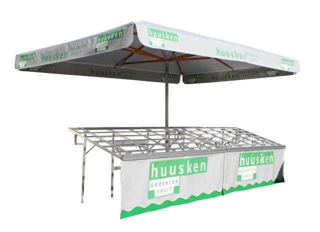 Markt parasol, marktparasol koopman jager