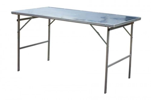 Hoektafel verkooptafel aluminiumtafel markttafel klaptafel