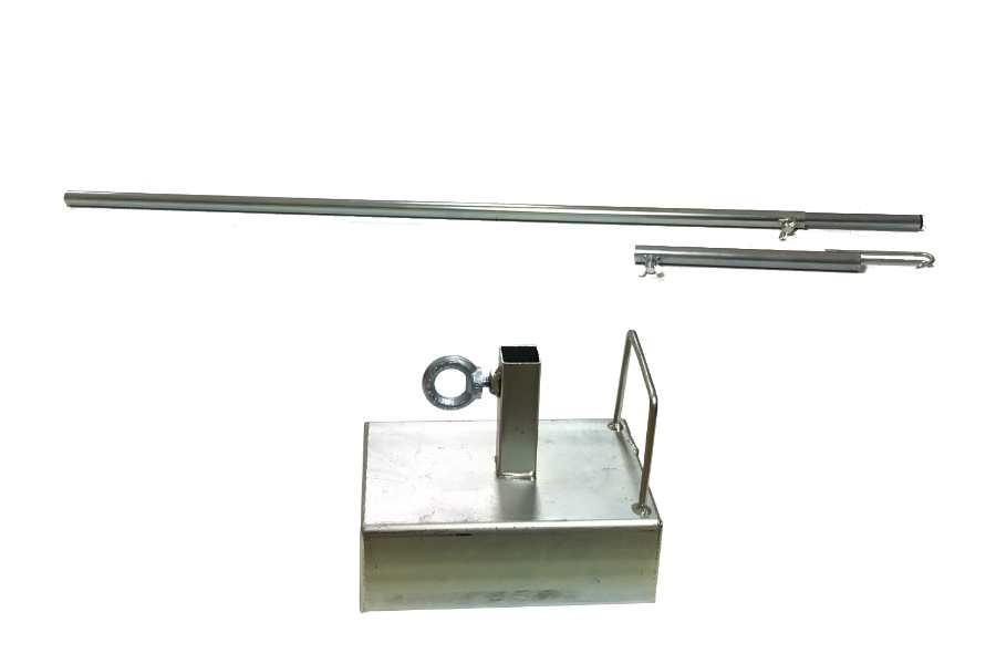 Ongekend Gewicht en hoeksteun voor onder de parasol. Voor extra stevigheid HP-86