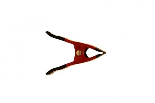 zeilklem rood gelakt mini Zeilklem, marktklem, markt, klem, plasticklem, marktbenodigdheden