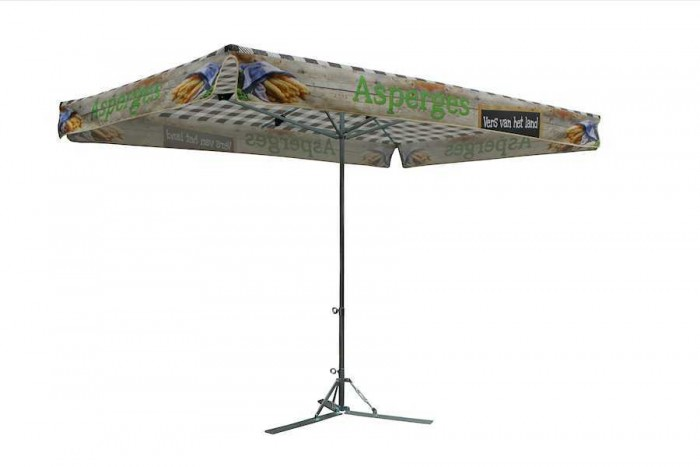 Meepakker parasols Asperge, budget parasol, kleine parasol marktparasol