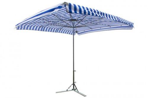 Aluminium parasol 300x300cm